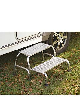 streetwize-accessories-folding-double-alloy-caravan-step