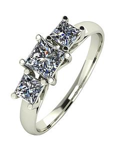 moissanite-9-carat-white-gold-1-carat-3-stone-square-cut-ring