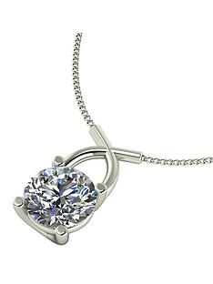 moissanite-premium-collection-9-carat-white-gold-1-carat-round-brilliant-cut-solitaire-pendant