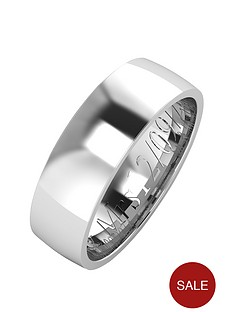 love-silver-personalised-argentium-silver-wedding-band-6mm
