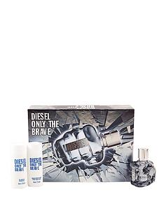 diesel-only-the-brave-edt-spray-35ml-with-showergel-50ml-and-aftershave-balm-50ml-gift-set