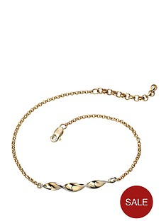 elements-9-carat-2-colour-gold-twist-bar-bracelet