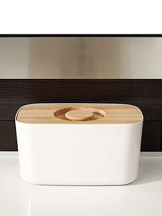 joseph-joseph-melamine-bread-bin-with-beech-wood-lid-white