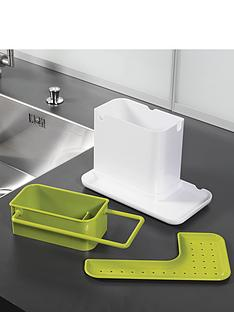 joseph-joseph-caddy-sink-organiser-white