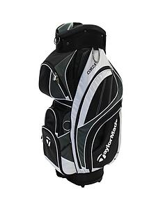 taylormade-2015-corza-cart-bag-blackwhitesilver
