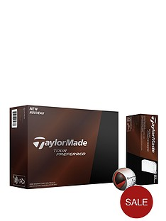 taylormade-tour-preferred-12-balls-white