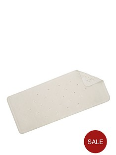 croydex-medium-natural-rubber-bath-mat-white