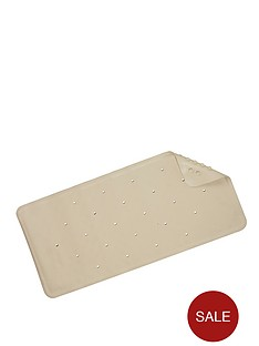 croydex-medium-natural-rubber-bath-mat-ivory