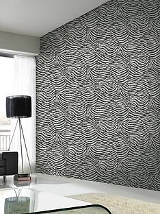 graham-brown-zebra-look-wallpaper-blackwhite