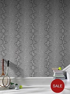 graham-brown-snake-look-wallpaper-grey