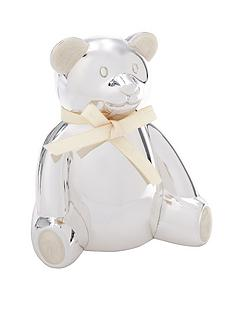 mamas-papas-silver-plated-bear-money-box