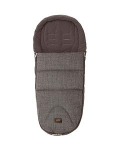 mamas-papas-cold-weather-plus-footmuff-chestnut-tweed