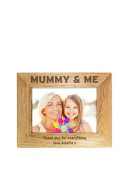 personalised-mummy-me-wooden-photo-frame