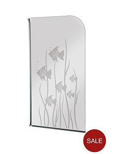 aqualux-half-framed-radius-white-fish-bath-screen