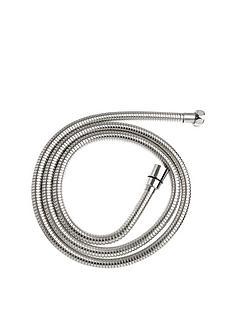 croydex-15-20m-stretch-shower-hose-stainless-steel