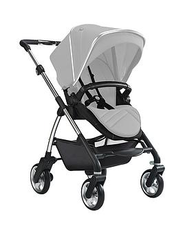 silver-cross-wayfarer-pushchair-seat-unitcarrycot-with-chrome-chassis