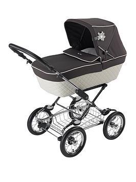 silver-cross-sleepover-elegance-pram-pushchair-with-chrome-chassis
