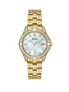 citizen-eco-drive-silhouette-diamond-gold-tone-stainless-steel-bracelet-ladies-watch