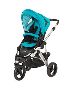 abc-design-design-cobra-pushchair-silver-chassis