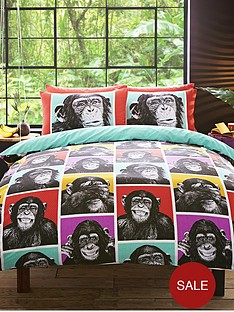 hashtag-bedding-cheeky-monkey-duvet-cover-set-multi
