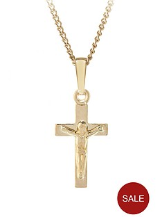 love-gold-9ct-yellow-gold-crucifix-childrens-pendant
