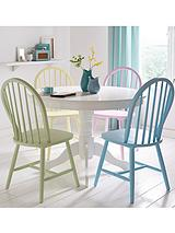 Daisy Circular Dining Table and 4 Chairs (Buy and SAVE!)