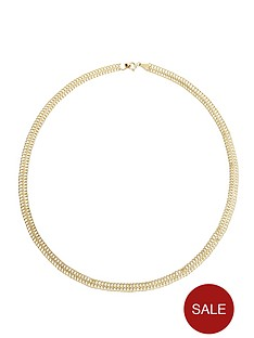 love-gold-9-carat-yellow-gold-double-row-fancy-chain