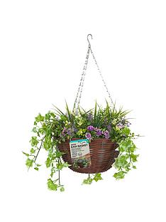 smart-garden-easy-artificial-30-cm-hanging-basket-with-purple-and-yellow-flowers
