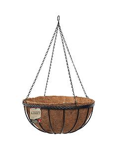 smart-garden-saxon-14-inch-hanging-baskets-with-liners-and-brackets-pack-of-2
