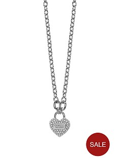 guess-rhodium-plated-padlock-crystal-charm-necklace