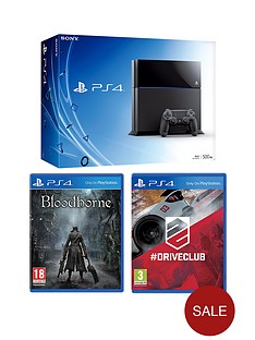 playstation-4-500gb-console-bloodborne-driveclub-free-infamous-second-son