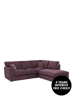 brodie-right-hand-fabric-corner-chaise-sofa
