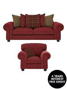 orkney-3-seater-fabric-sofa-plus-armchair-buy-and-save
