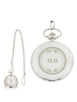 personalised-initials-pocket-watch