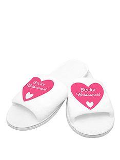personalised-bridesmaid-slippers