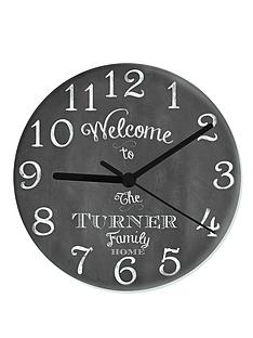 personalised-chalkboard-family-glass-clock