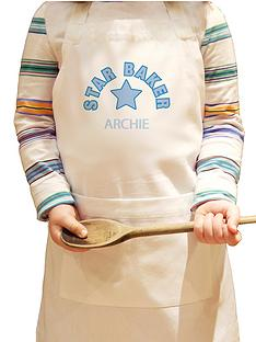 personalised-star-baker-childs-apron