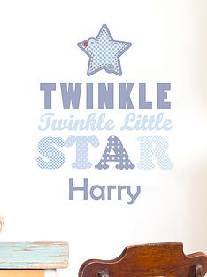 personalised-twinkle-twinkle-wall-sticker
