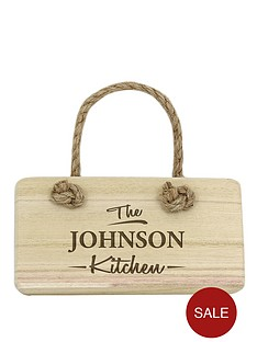 personalised-modern-family-kitchen-wooden-sign
