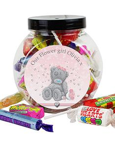 me-to-you-personalised-flowergirl-sweet-jar