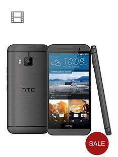htc-one-m9-32gb-grey-with-free-htc-one-m9-dot-view-ice-case-in-turquoise
