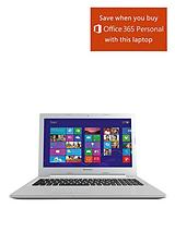Z50 Intel® Core™ i7-4510U Processor, 8Gb RAM, 1Tb + 8Gb SSHD, 15.6 inch Full HD Laptop, 2Gb NVIDIA GeForce 820M with Microsoft Office 365 - Silver