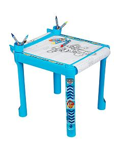 paw-patrol-colouring-table