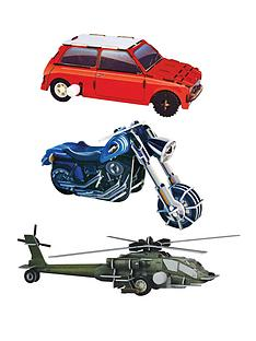 make-you-own-wind-ups-selection-retro-car-chopper-helicopter