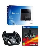 500GB Console + Project Cars + FREE The Order: 1886 & inFAMOUS Second Son