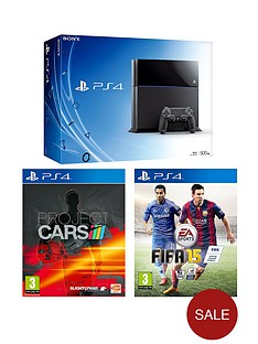 playstation-4-playstation-4-500gb-console-project-cars-fifa-15-free-the-last-of-us-remastered-infamous-second-son