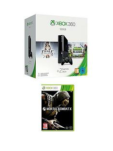 xbox-360-500gb-console-with-plants-vs-zombies-garden-warfare-and-mortal-kombat-x