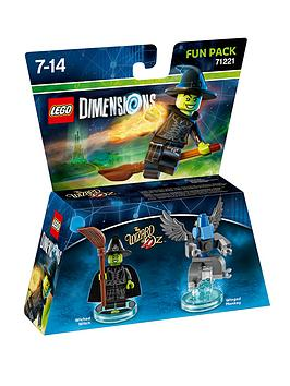 Lego Dimensions Wizard Of Oz Witch Fun Pack 71221