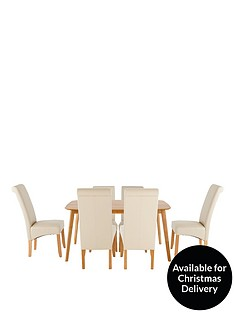 charles-150-cm-dining-table-6-brook-faux-leather-chairs
