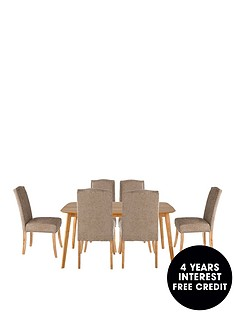 charles-150-cm-dining-table-6-astoria-fabric-chairs